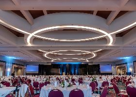 Convention Center Ballroom Set Up Spotlight Thumbnail