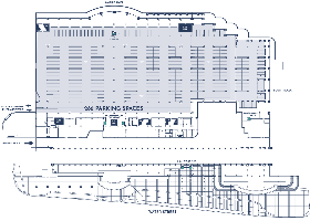 Convention Center Parking Map