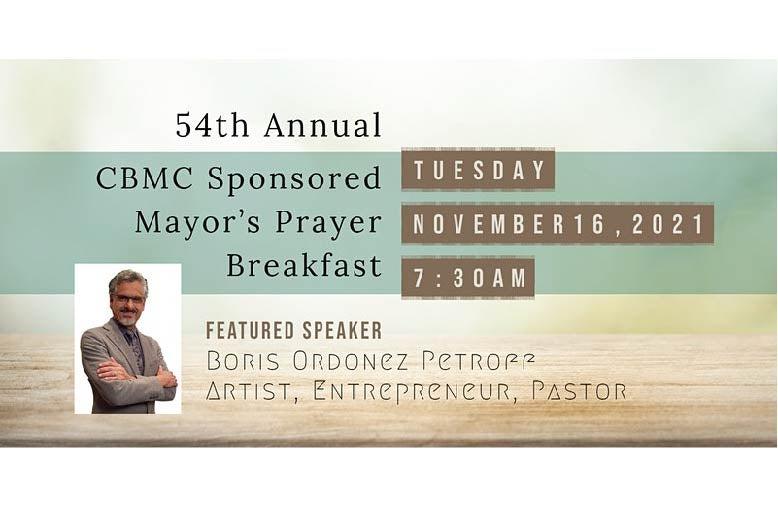 More Info for Mayor's Prayer Breakfast